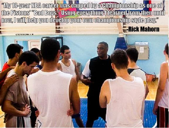 Rick Mahorn Big Man Camp