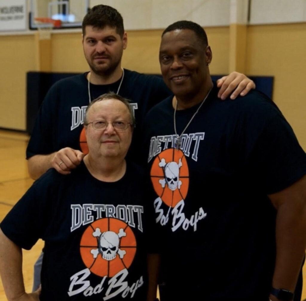 Mitch Smith George Galiotos, and Rick Mahorn